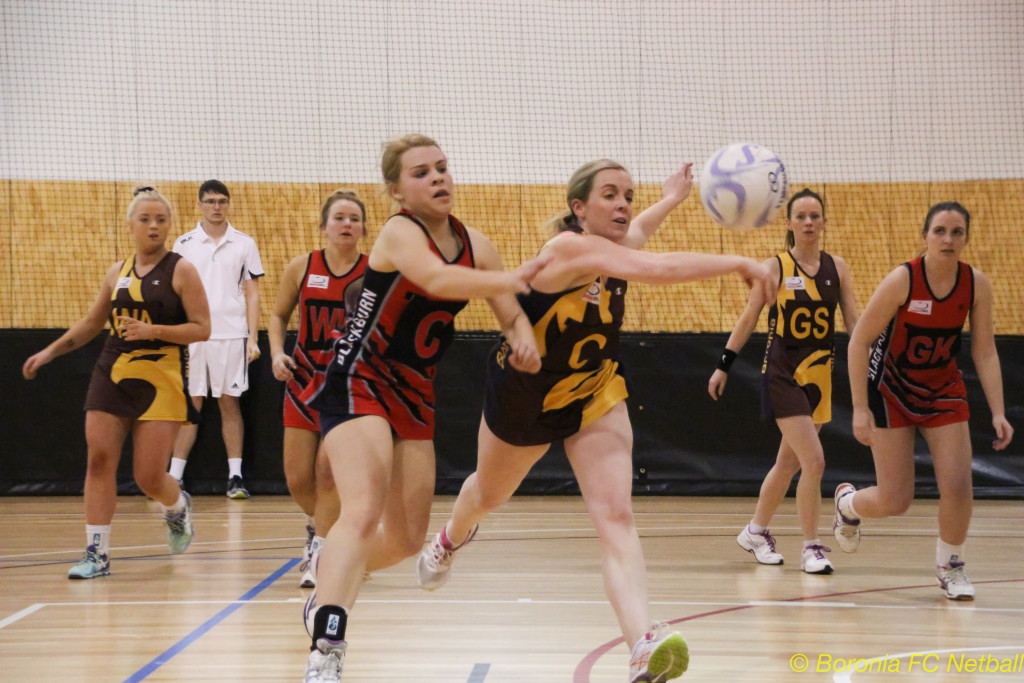 Boronia Gold in Division 1 EFL Netball