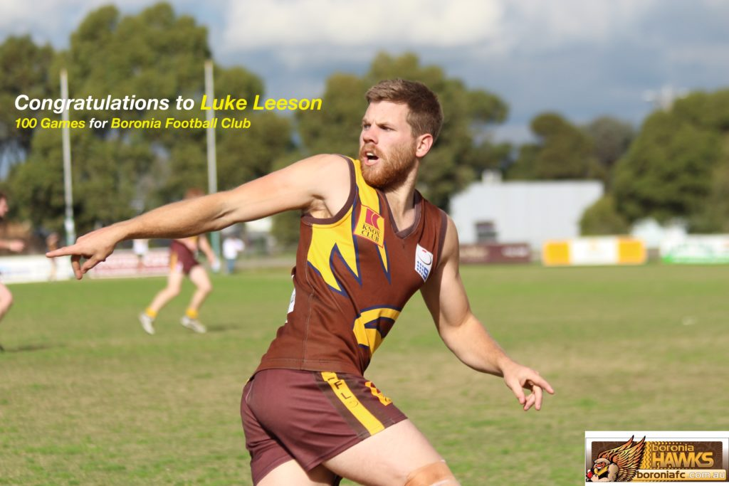 Luke Leeson 100 Games