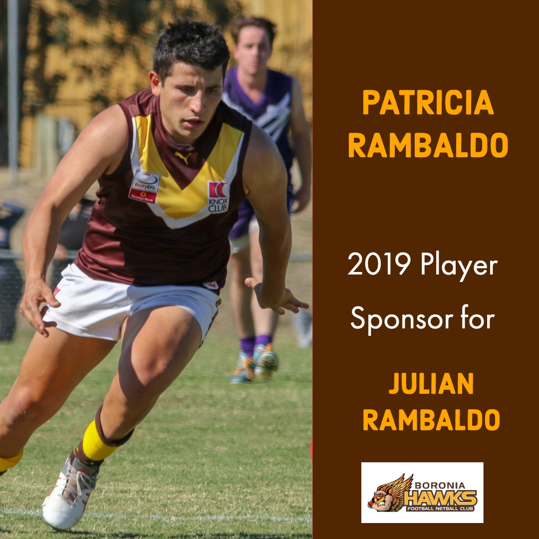 Thank you to Patricia Rambaldo!