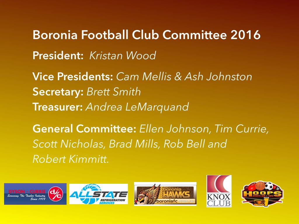 Executive Committee 2016