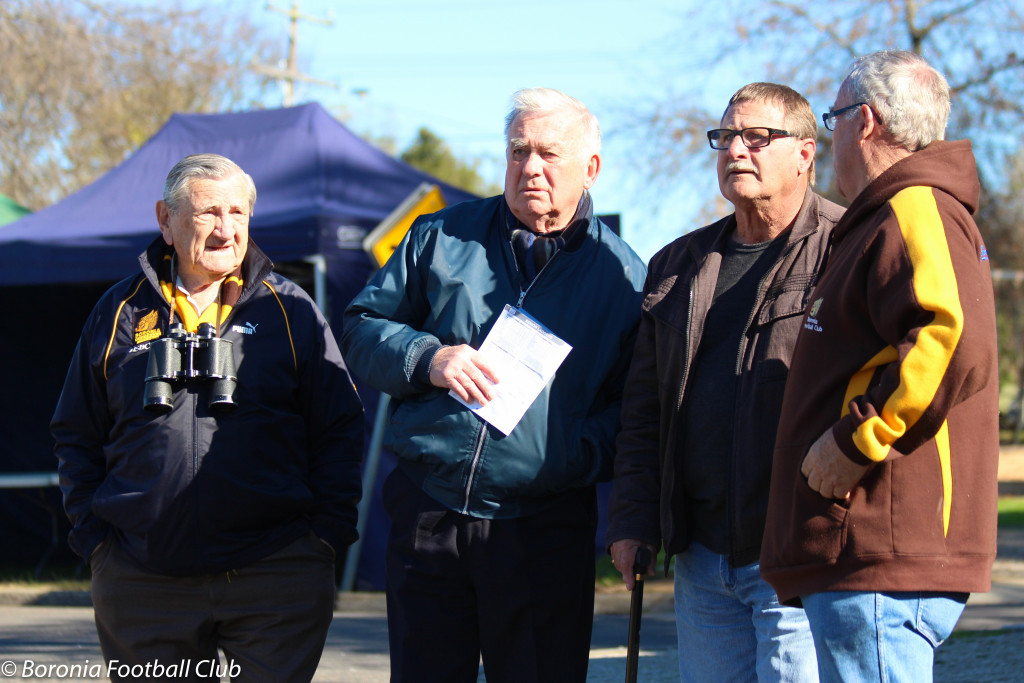 Life Members ~ Bob Henry, Nigel Spokes, Laurie Reilly and Mick Kimmitt in 2015