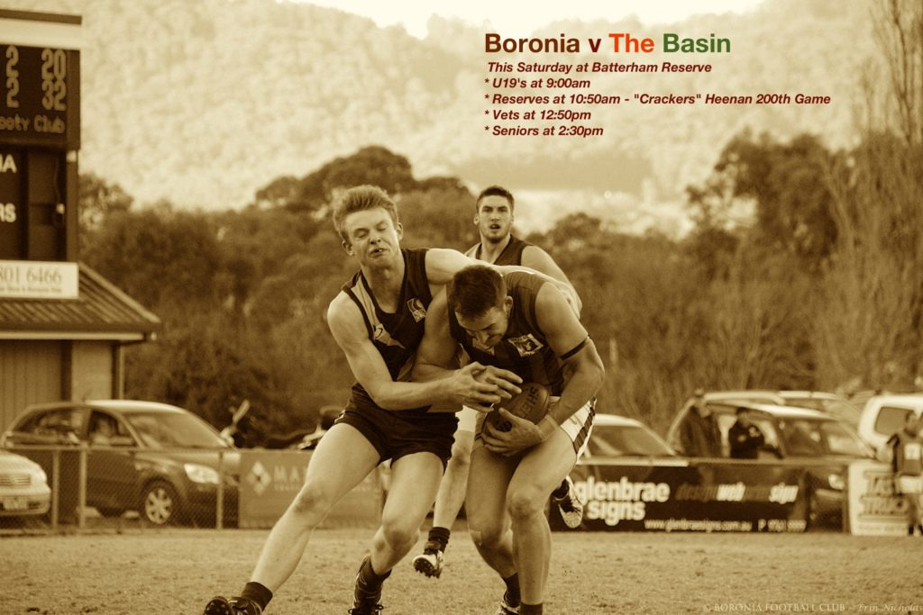 Boronia v The Basin