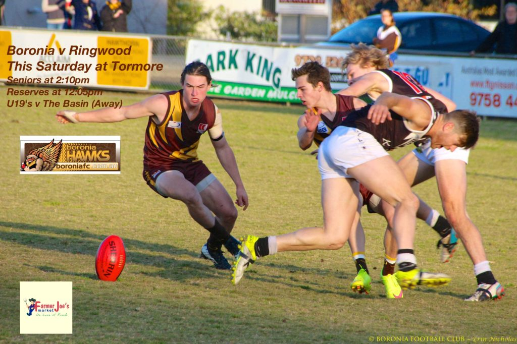Boronia v Ringwood